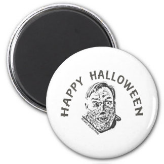 Crazy Zombie - Halloween 2 Inch Round Magnet