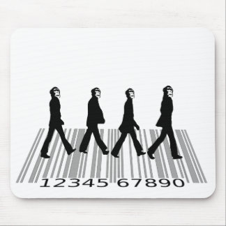 crazyapecommercialroad mouse pad