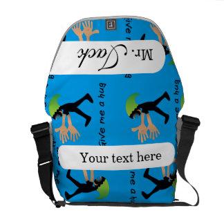 Crazydeal p529 Super funny medium messenger bag