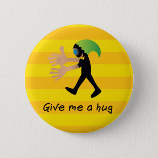 Crazydeal p555 give me a hug standard round button