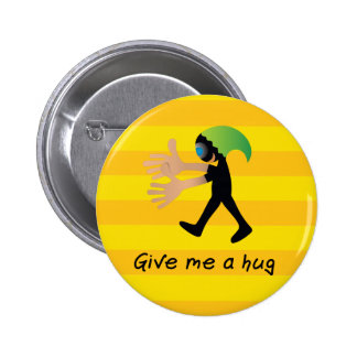 Crazydeal p555 give me a hug standard round button