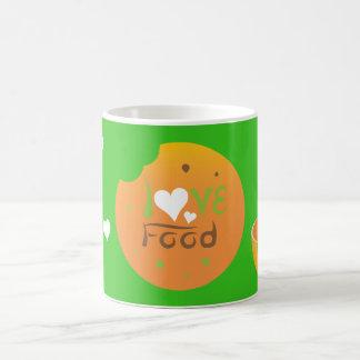Crazydeal Z35 Love food green background design Coffee Mug