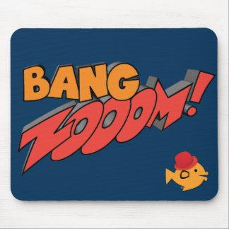 CRAZYFISH bang zoom Mouse Pad