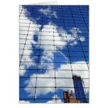 CRAZYFISH clouds nyc photo Card