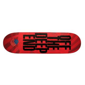 CRAZYFISH del extremo profundo Tablas De Skate
