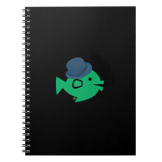 CRAZYFISH fish logo Notebook