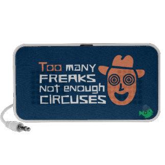 CRAZYFISH freaks circuses iPhone Speaker