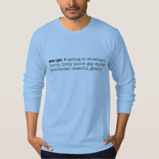 CRAZYFISH gay definition pride T-Shirt