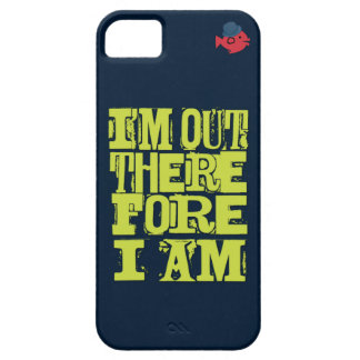 CRAZYFISH i'm out therefore i am gay iPhone Case