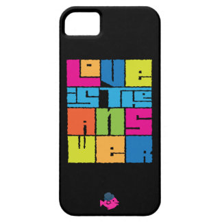 CRAZYFISH love is the answer iphone iPhone SE/5/5s Case