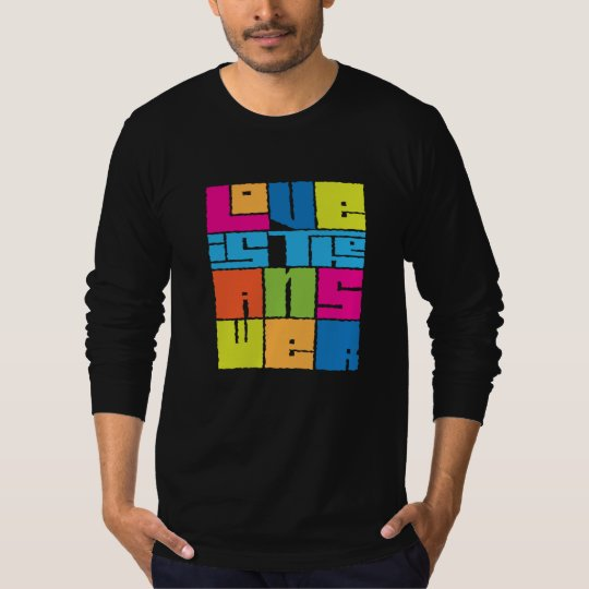 CRAZYFISH love is the answer T-Shirt