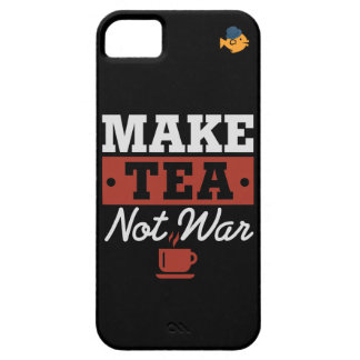CRAZYFISH make tea not war iPhone SE/5/5s Case