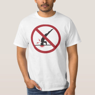 CRAZYFISH no diving T-Shirt