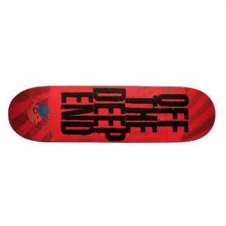 CRAZYFISH off the deep end Skateboard Deck
