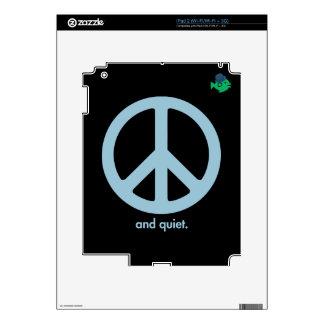 CRAZYFISH peace and quiet Skins For iPad 2