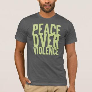 CRAZYFISH peace over violence T-Shirt