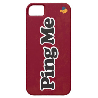 CRAZYFISH ping me iphone iPhone 5 Cover