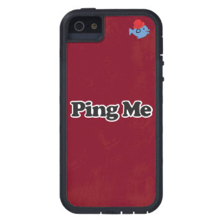 CRAZYFISH ping me iPhone Cover For iPhone 5