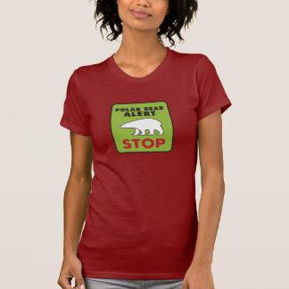 CRAZYFISH polar bear alert T-Shirt