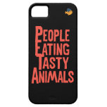 CRAZYFISH que come animales iPhone 5 Case-Mate Protector