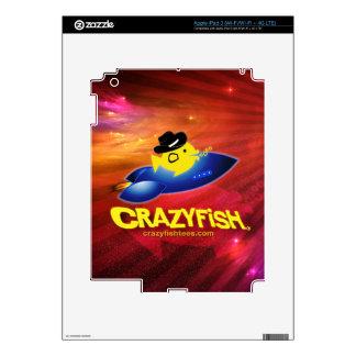 CRAZYFISH rocket fish iPad 3 Decal
