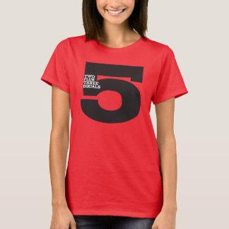 CRAZYFISH two plus three equals five T-Shirt