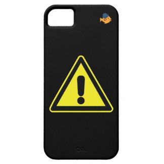 CRAZYFISH warning sign iPhone Case