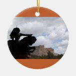 crazyHorse ornament