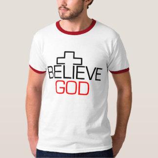 Crea a dios remera