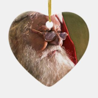 Crea, acuarela de Paul Jackson Adorno Navideño De Cerámica En Forma De Corazón