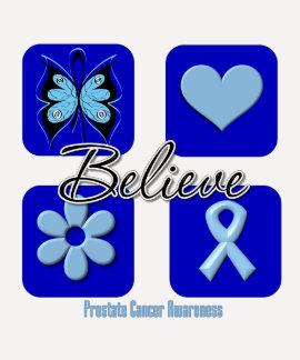 Crea al cáncer de próstata de las inspiraciones camiseta