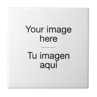Crea azulejo personalizado en blanco con foto
