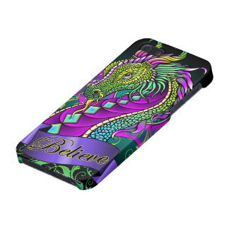 Crea el caso de IPhone del dragón del arco iris br iPhone 5 Cobertura