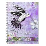 Crea el cuaderno del colibrí