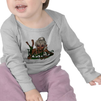 Crea el lyn de hadas Dwn Camiseta