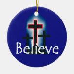 CREA el ornamento Adornos De Navidad