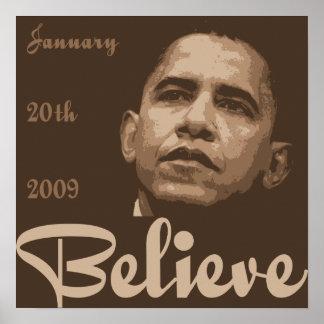 Crea el poster de la inauguración de Obama