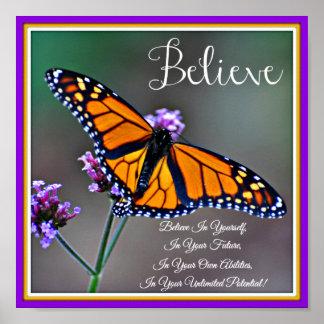 Crea el poster de la mariposa