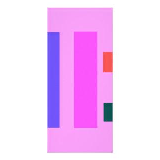 Crea el rosa tarjetas publicitarias personalizadas