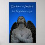 Crea en ángeles 36 x 24 posters