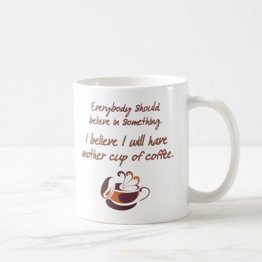 Crea en café taza de café