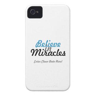 Crea en caso de los milagros carcasa para iPhone 4 de Case-Mate