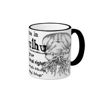 Crea en Cthulhu Tazas De Café