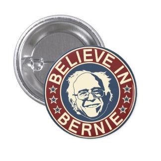 Crea en el botón de Bernie (V1) Pin Redondo De 1 Pulgada