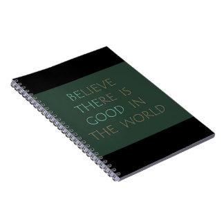 Crea en el cuaderno del mundo