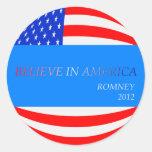 Crea en el pegatina de América