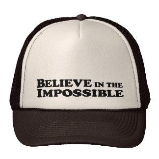 Crea en imposible - gorra del camionero