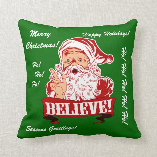 Crea en la almohada de Papá Noel