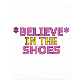 Crea en los zapatos (Oudin) Postales