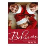 Crea en luces de navidad invitación personalizada